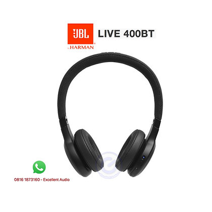 JBL Live 400bt wireless headphone with voice assistant
