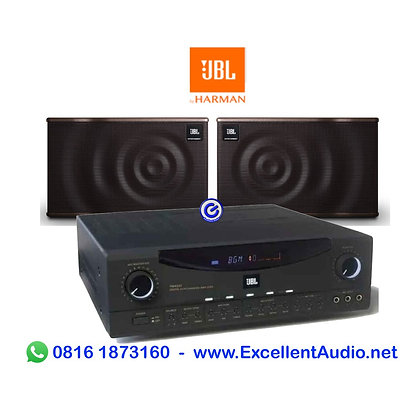 Paket JBL RMA 330 MK10 karaoke mixer amplifier dan speaker