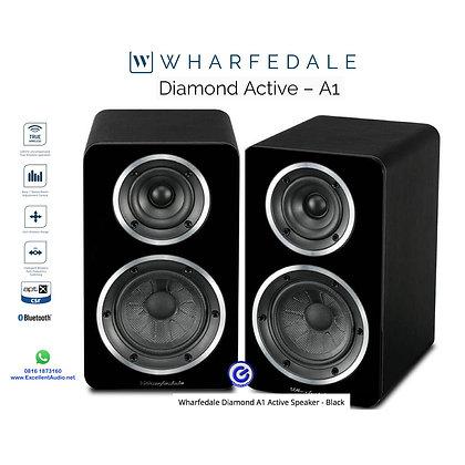 Wharfedale Diamond A1 bookshelf aktif wireless bluetooth speaker