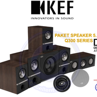 KEF Q300 paket 5.1.2 dolby atmos home theater speaker sl triangle klip