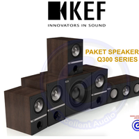 KEF Q300 paket speaker pasif 5.1 home theater sln jbl Q b&w focal