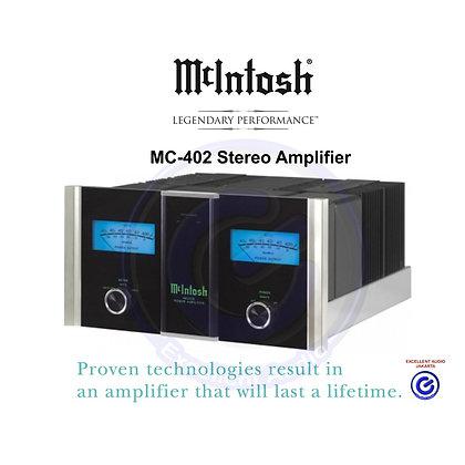 McIntosh MC 402