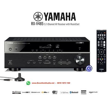Yamaha RXV485 home theatre AV receiver multichannel amplifier