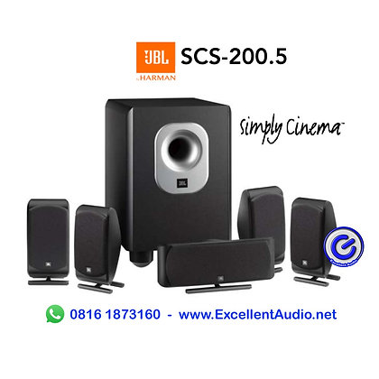 paket JBL SCS 200.5 5.1 channel home theatre speaker system