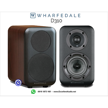 Whaferdale D310 bookshelf speaker high performance