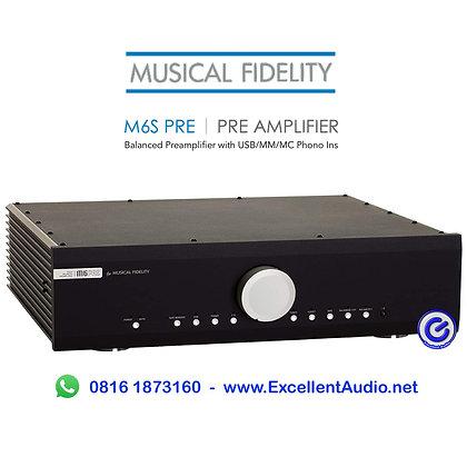 Musical Fidelity M6s Pre Balanced stereo Pre amplifier