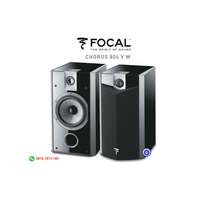 Focal Chorus 806VW 806 VW pasif bookshelf speaker