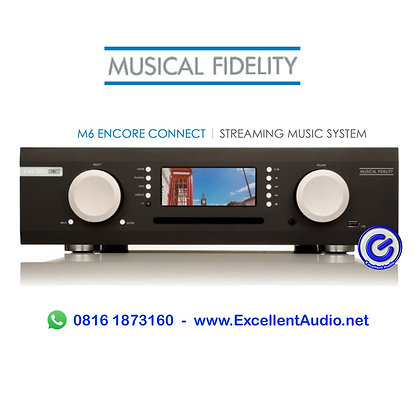 Musical Fidelity M6 Encore Connect HDD 2Tb Streamer CD Ripper Preamplifier