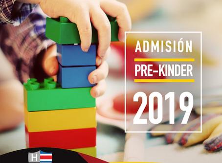 COLEGIO HUMBOLTD-SCHULE Su proceso de Admisión Pre-Kinder 2019