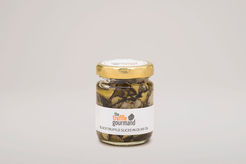 Black Truffle Slices in Olive Oil