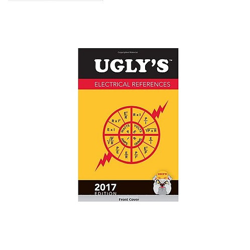 Ugly's Electrical References, 2017, An On-the-job Spiral Bound Pocket Size Guide