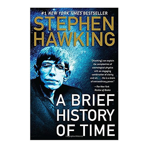 A Brief History of Time Paperback, Unabridged Stephen Hawking How'd It All Begin