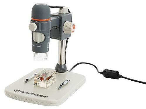 5MP Handheld Digital Microscope Pro Capture & Save Images 20x-200x Power Win/Mac