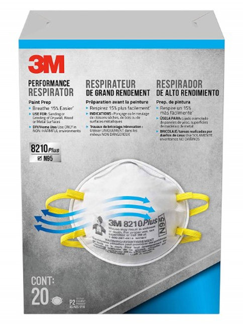Plus Particulate Respirators NIOSH Approved N95 95 Percent Filtration Efficiency