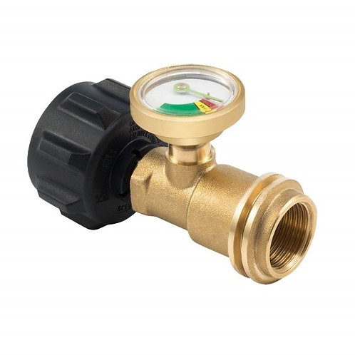 Brass Propane Gas Tank Meter Guage, Pressure Leak Detector For Cylinders & Tanks