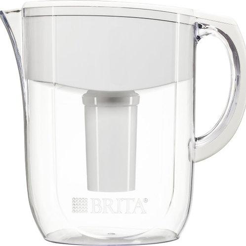 Brita 10c Everyday (BPA Free) Water Pitcher Acrylic 1 Filter White Great Tasting