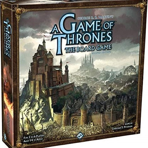 A Game of Thrones by George R. R Martin Board Game Second Edition 3 Hours of Fun
