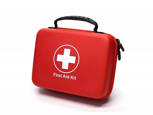 228pc First Aid Emergency Kit, Lightweight Compact Durable Car Home Boat Camping