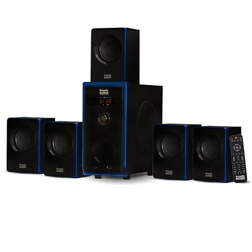 Bluetooth Powered 5.1 Multimedia Home Theater Speaker System 800w Surround Sound