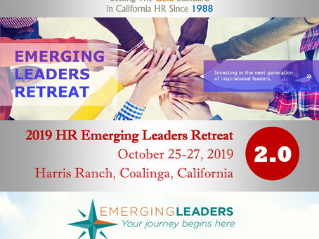 Call for Applications Now Open for HR Emerging Leaders Retreat 2.0 - Due Sept. 2, 2019