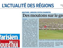 PARISIEN // AUJOURD'HUI EN FRANCE //