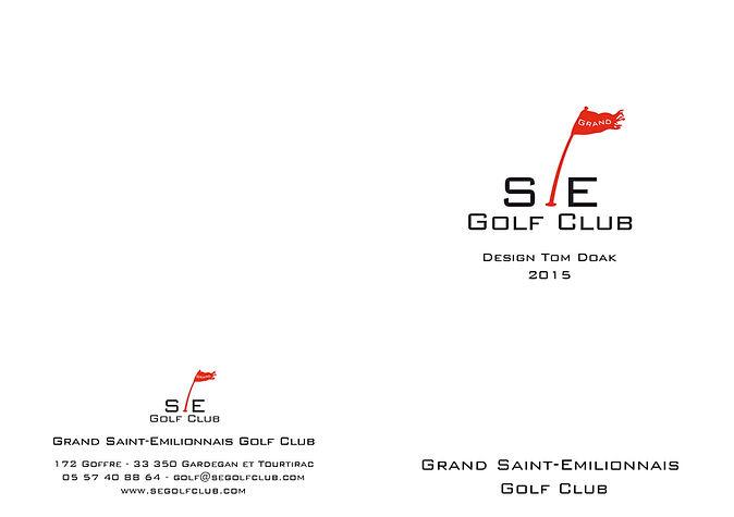 Score Card Saint-Emilionnais Golf Club