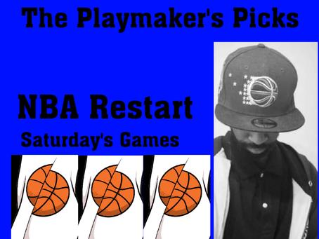 The Playmaker's Pick: NBA Saturday