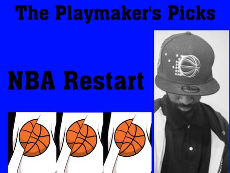 The Playmaker's Picks: NBA Restart