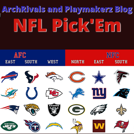 ArchRivals NFL Picks: Week 5