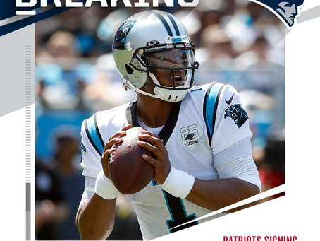 Cam Newton signs with New England Means