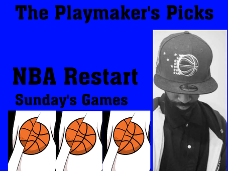 The Playmaker's Pick: NBA Sunday