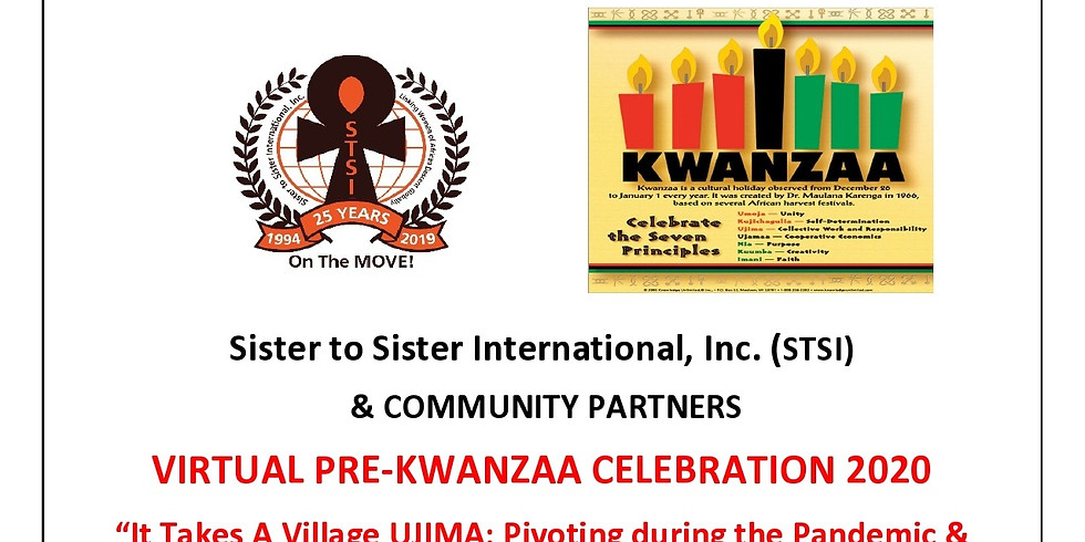 Virtual Pre-Kwanzaa Celebration