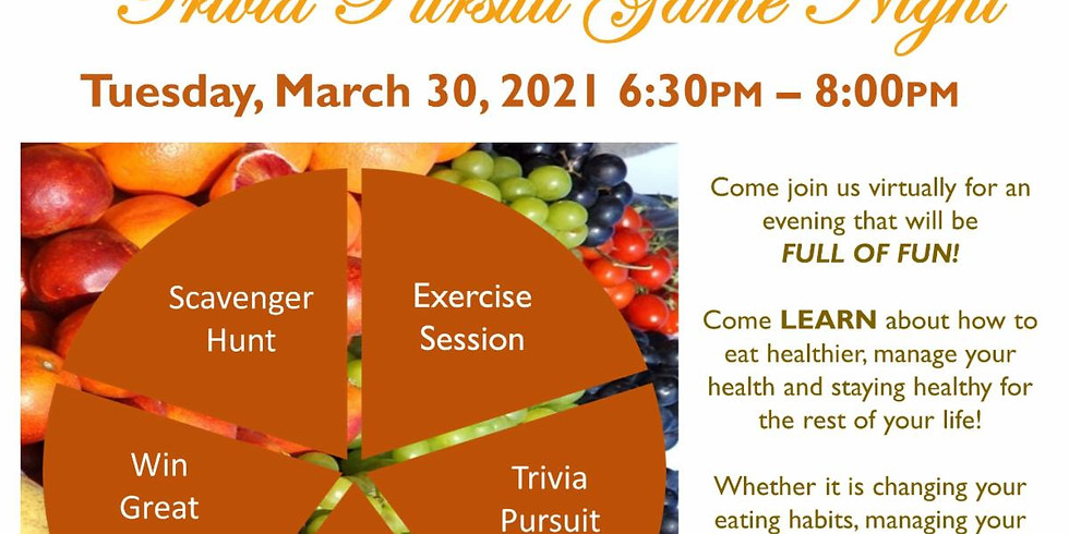 Health & Wellness Trivia Game Night