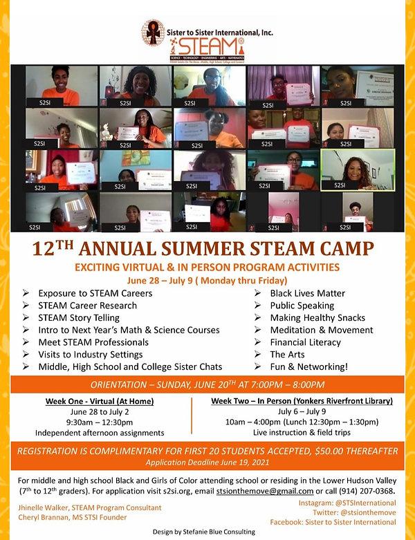 12th STEAM Camp