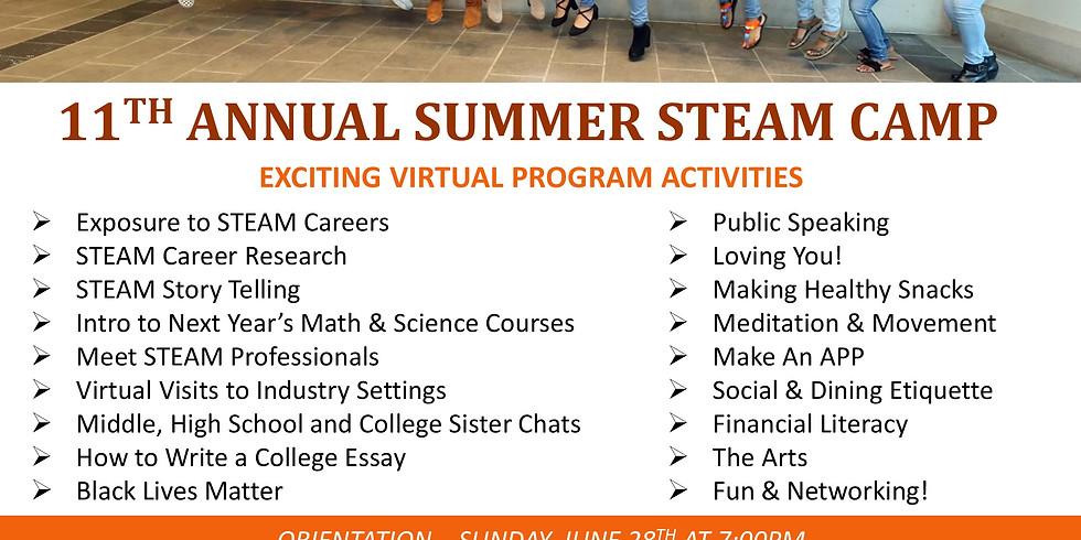 11th Annual Summer STEAM Camp