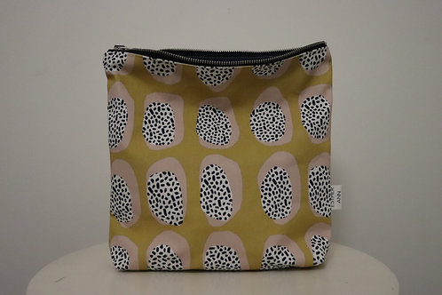 The Mustard Ovals Pouch | Large