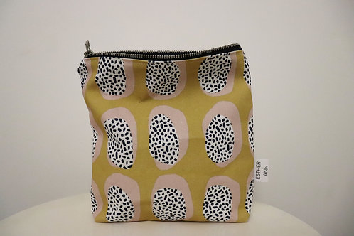 The Mustard Ovals Pouch | Small
