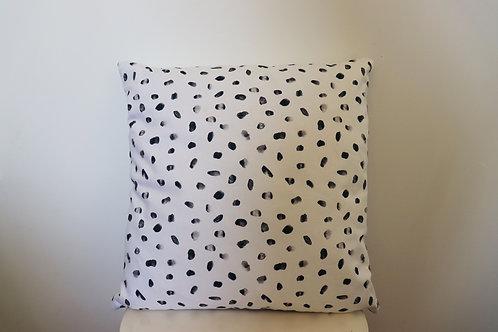 The Navy Painterly Cushion