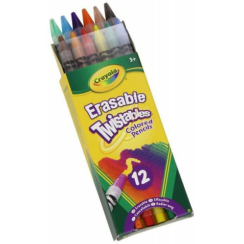 Crayola Erasable Twistables Colored Pencils