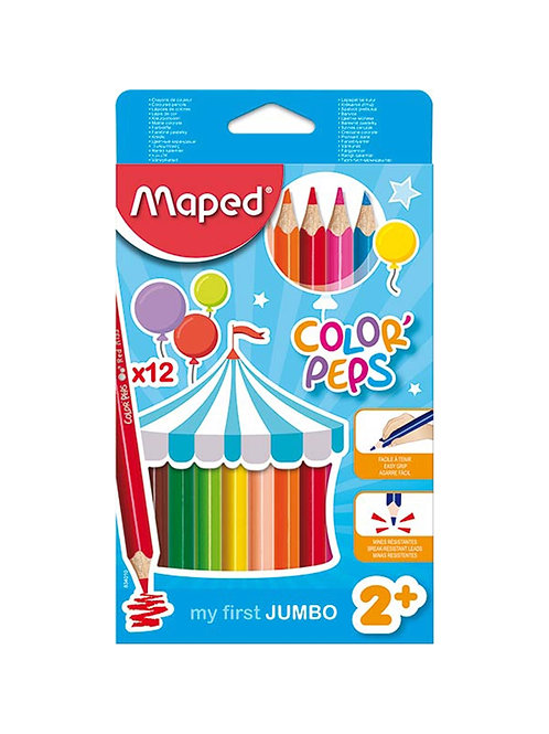 Maped Color Peps Jumbo Colored Pencils