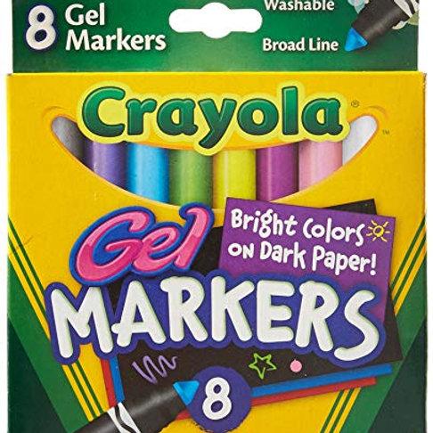 Crayola Gel Markers 8pk
