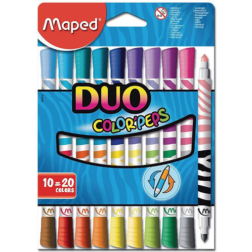 Maped Duo Sided Color Peps Markers