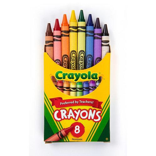 Crayola Crayons 8pk