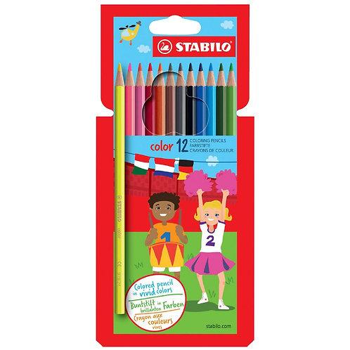Stabilo Color 12 Colouring Pencils