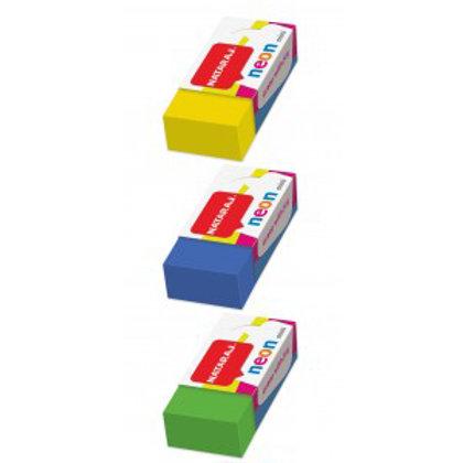 Nataraj Neon Cuboid Eraser