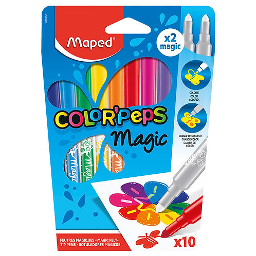 Maped Color Peps Magic Markers 10pk