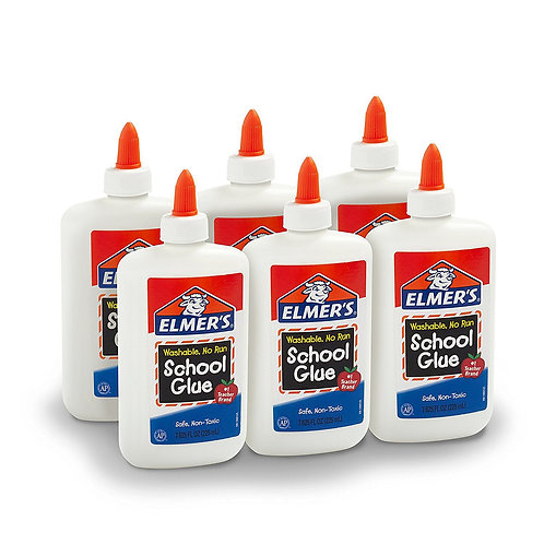 Elmers liquid washable no run glue large