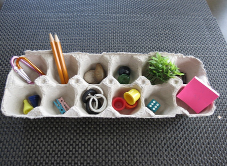 Playing with loose parts!