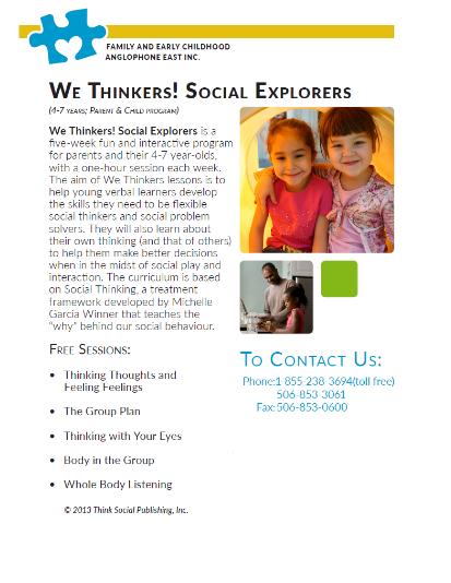 We thinkers, Social Explorers