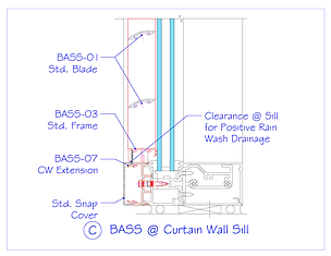 BASS at Curtain Wall Sill